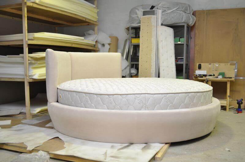 круглі ліжка на замовлення