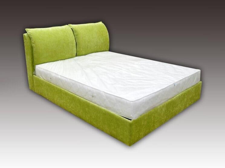 ціни на ліжко Палермо з м'якою спинкою