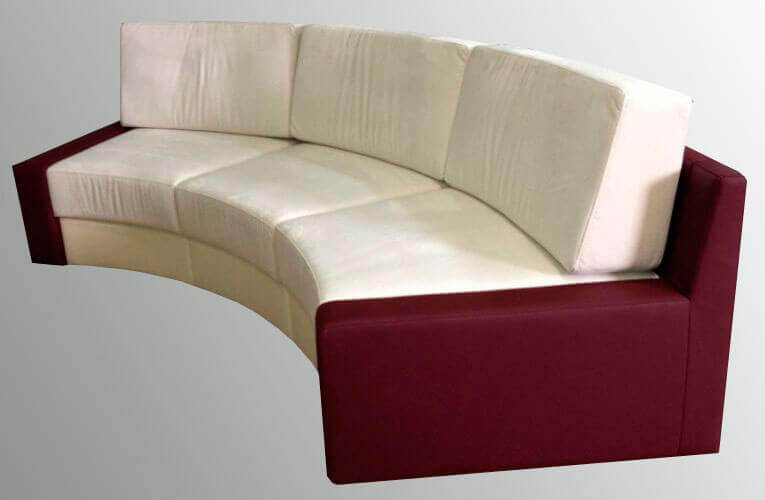 закругленные диваны на заказ