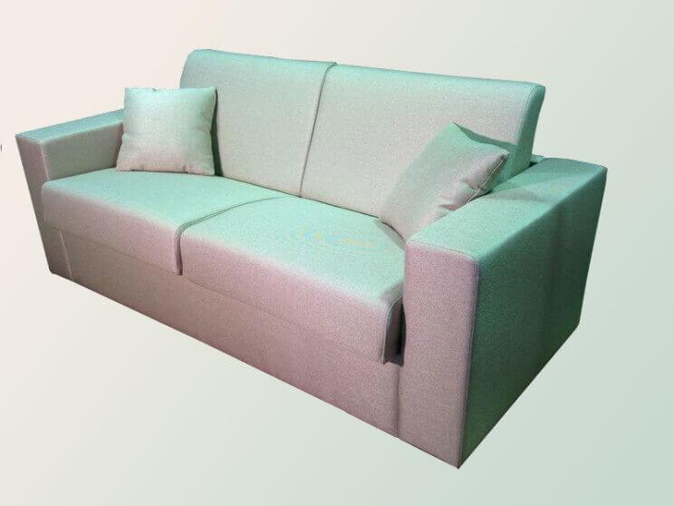 прямой диван с механизмом миллениум